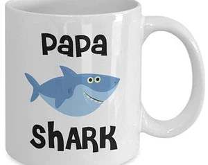 papa shark mug do