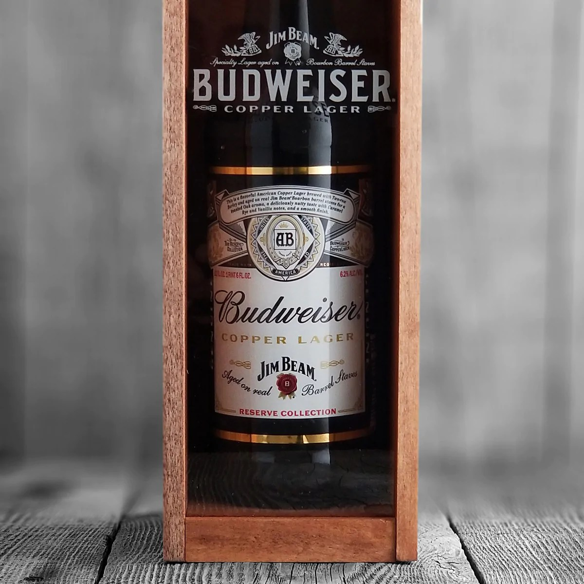 Budweiser Copper Lager Aged On Jim Beam Barrels Craft
