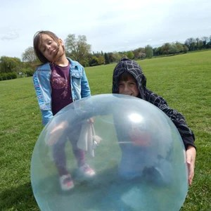 expandable water bubble ball