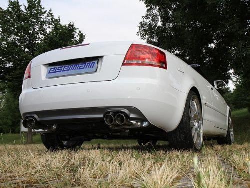 eisenmann b7 a4 cabrio performance exhaust