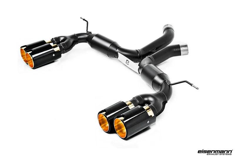 eisenmann bmw f85 x5m f86 x6m gold series race exhaust