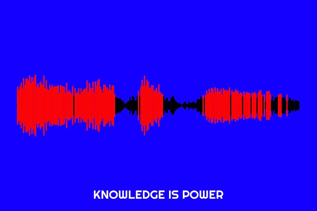 knowledge is power waveform