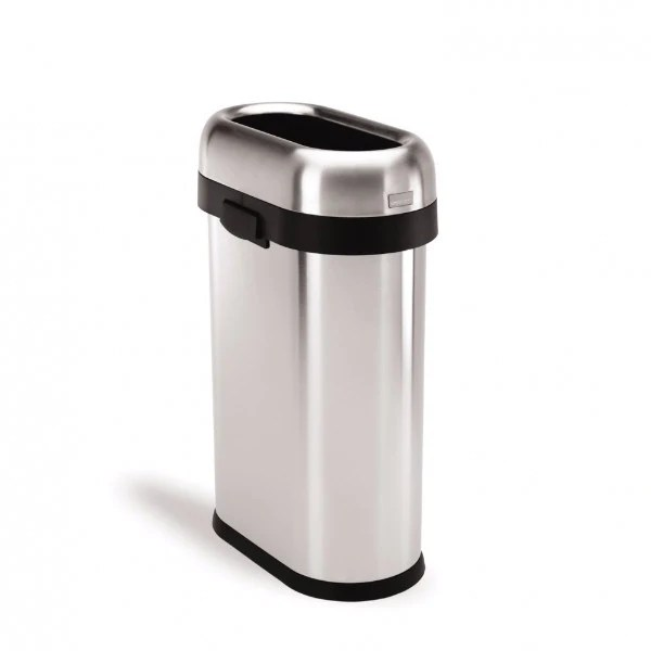 small recycling bins for kitchen commercial hood parts waste room in order 50l slim open can