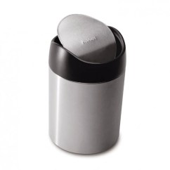 Small Recycling Bins For Kitchen Delta Wall Mount Faucet Waste Room In Order 1 5l Countertop Can