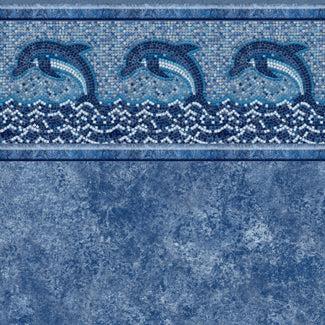 dolphin mosaic tile avelino floor in