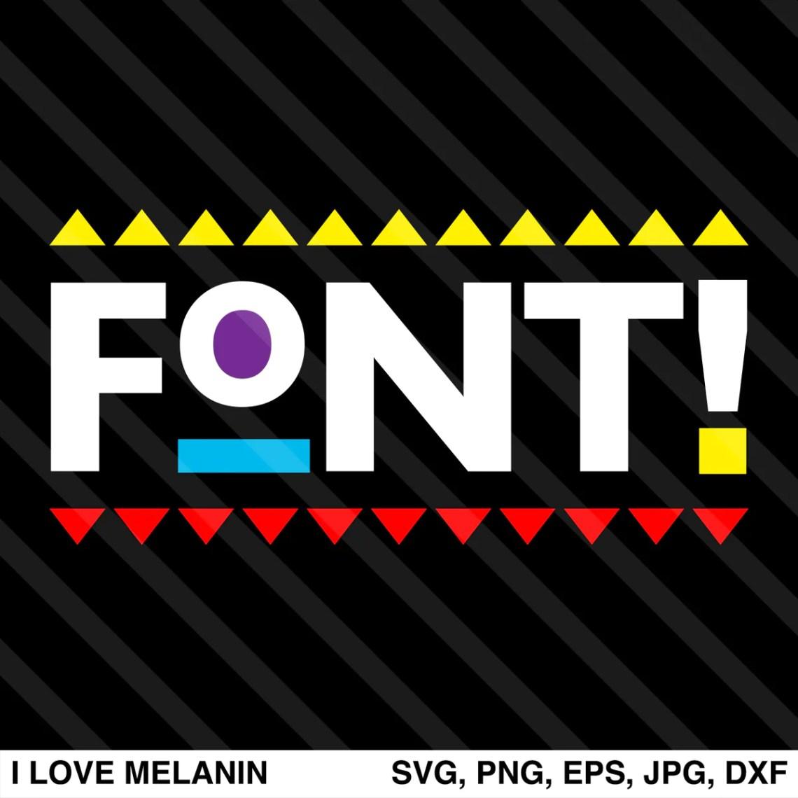 Download Martin Font SVG - I Love Melanin