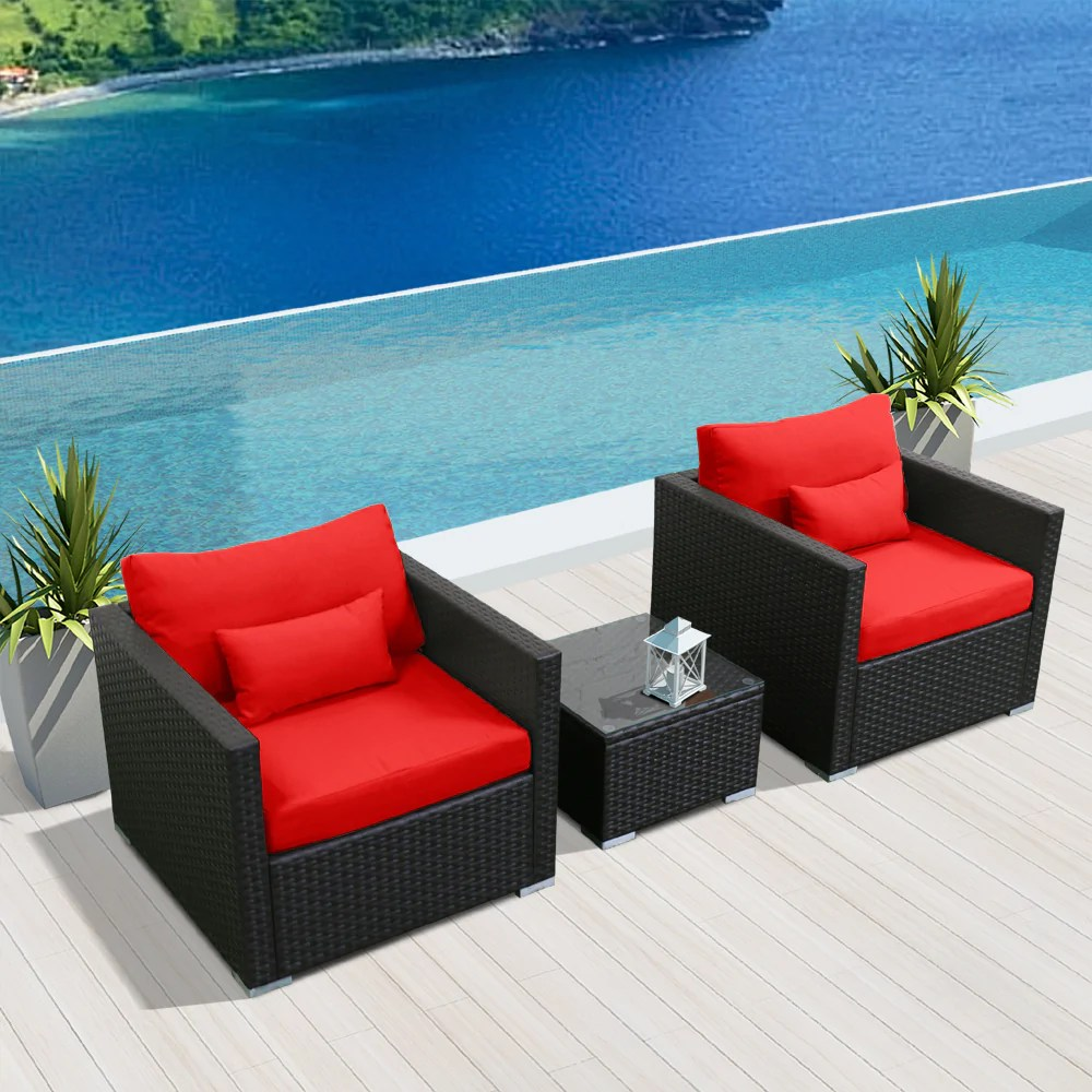 3d Modern Wicker Patio Furniture Sofa Set Modenzi Llc
