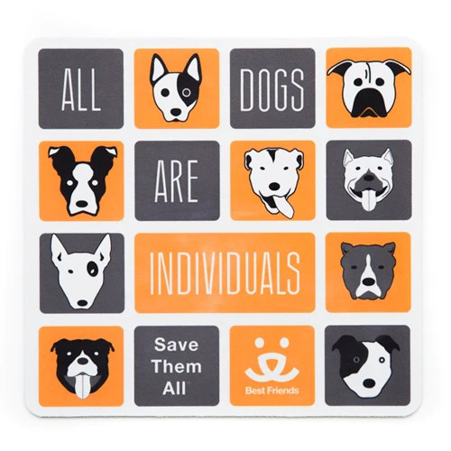 mouse pad all dogs