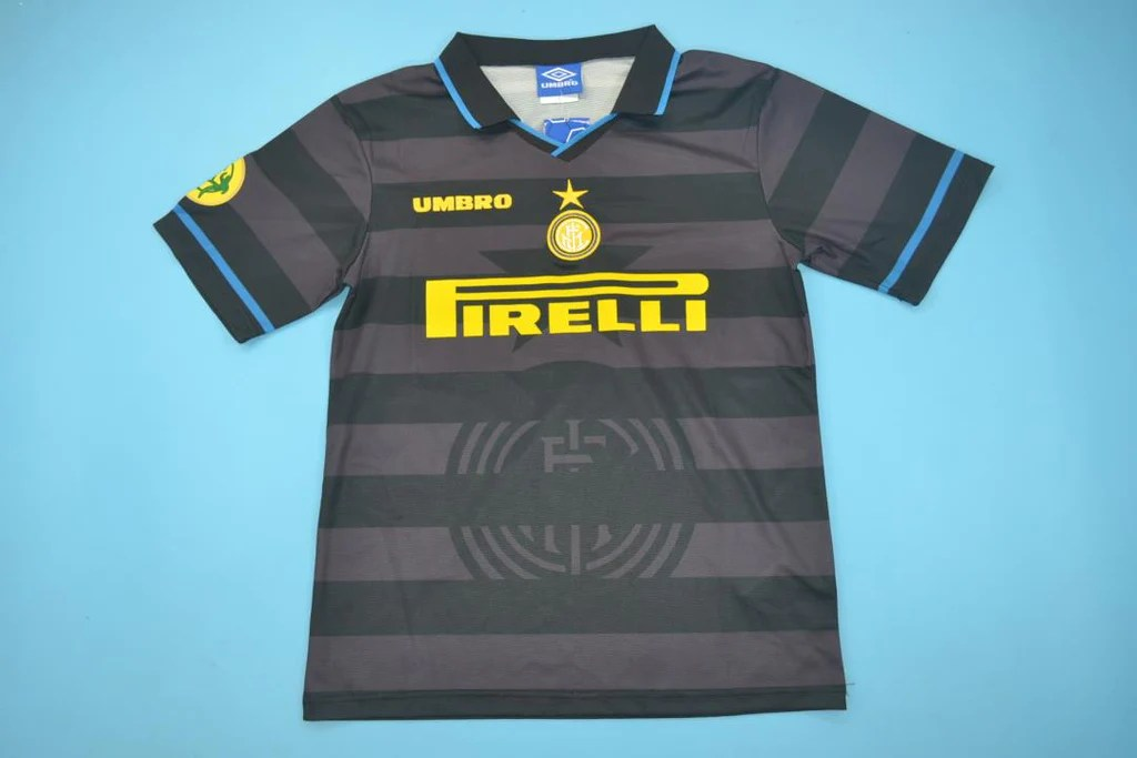 Inter Milan 1997 1998 Simeone 14 Home Jersey Vintage Jerseys