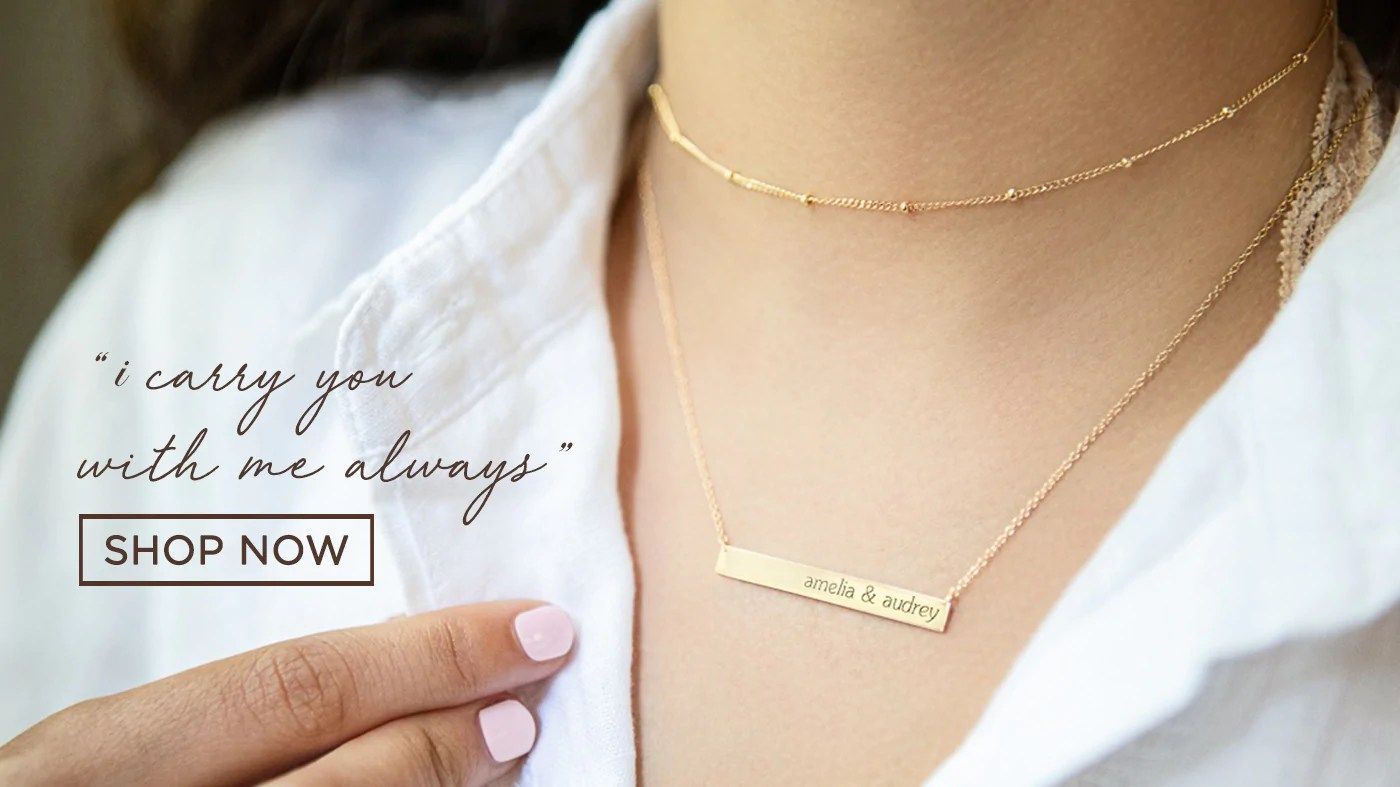 tiny tags personalized jewelry