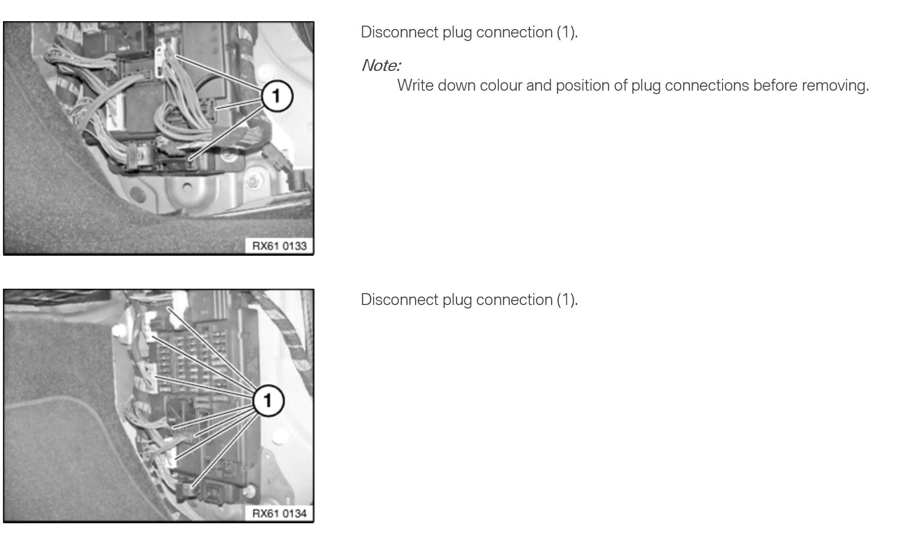 mini cooper r56 r58 r60 all r series fuse box speg removal instructions [ 1828 x 1094 Pixel ]