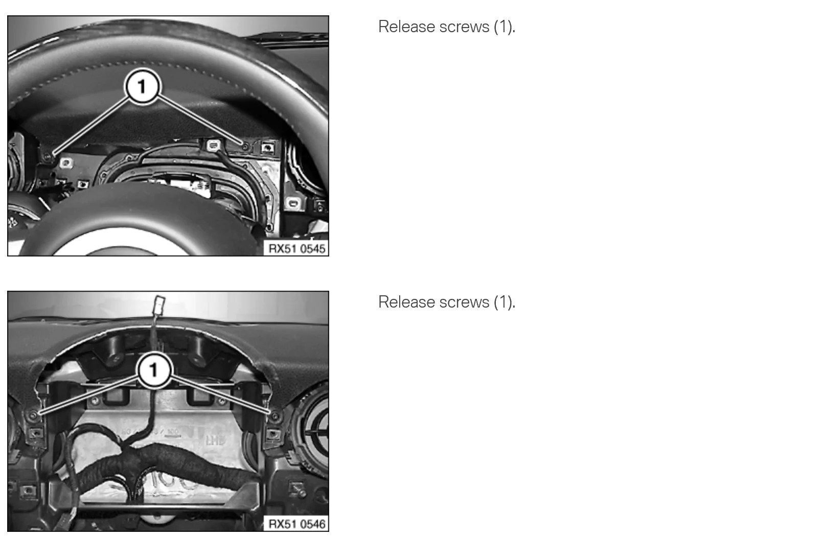 medium resolution of removing and installing replacing instrument panel upper section trim