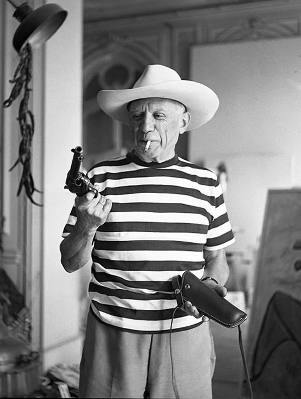 Pablo Picasso Pictures of Him