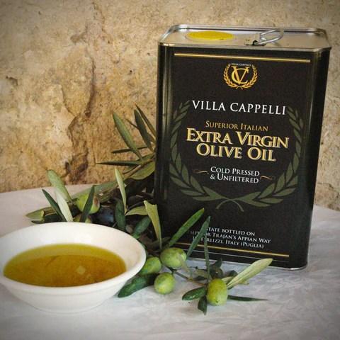Extra Virgin Olive Oil  Villa Cappelli