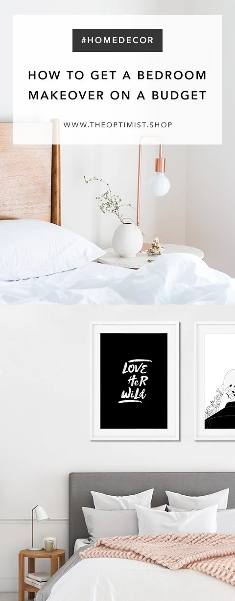 How To Get A Bedroom Makeover On A Budget