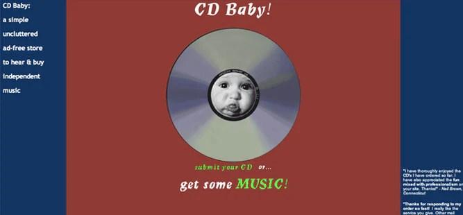 CD Baby - 1998