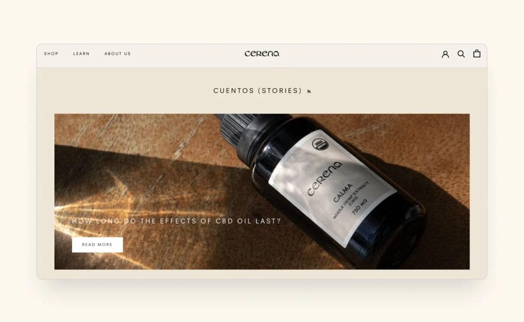 Cerena blog