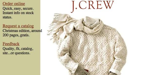 J Crew - 1996