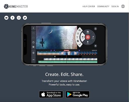 KineMaster Video Editing