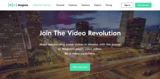 Magisto Video Editing Software for Mobile