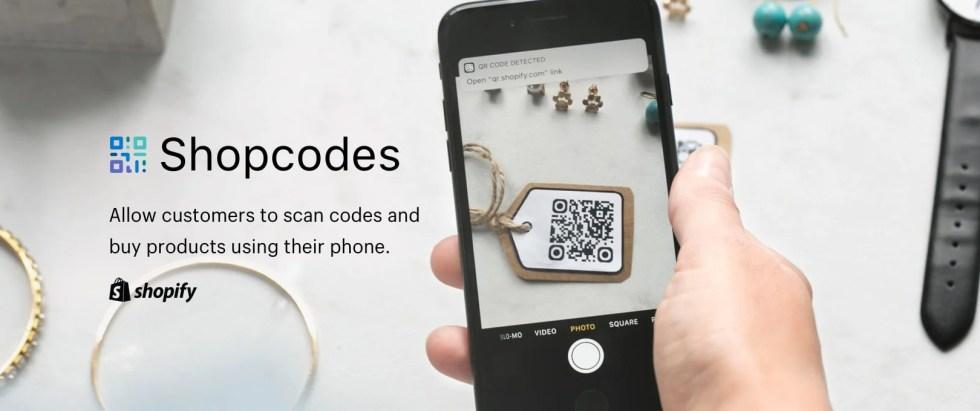 쇼핑 코드 소개 : 모바일 쇼핑을 편하게 만들어주는 QR 코드