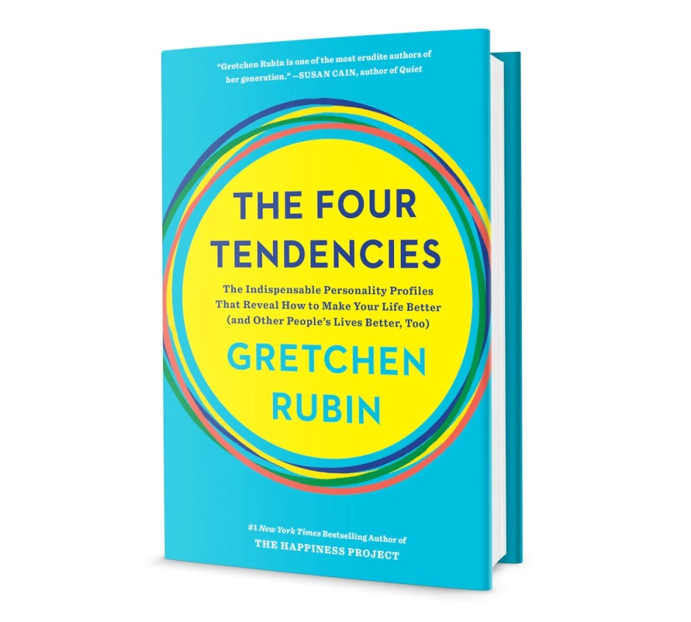 Book cover for The Four Tendencies by Gretchen Rubin