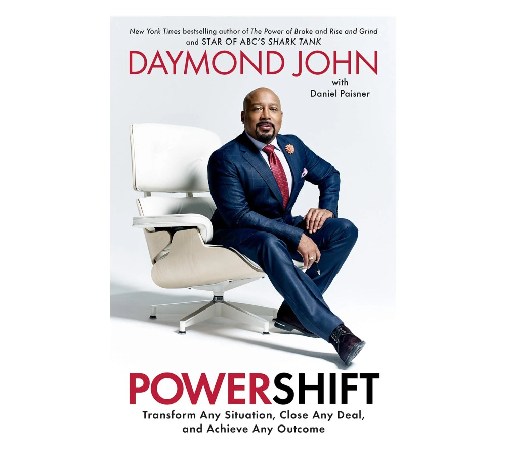 Book cover for Powershift by Daymond John