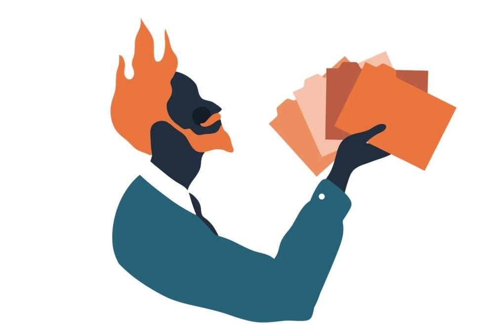 Illustration of The Founder's Zodiac sign, The Firestarter