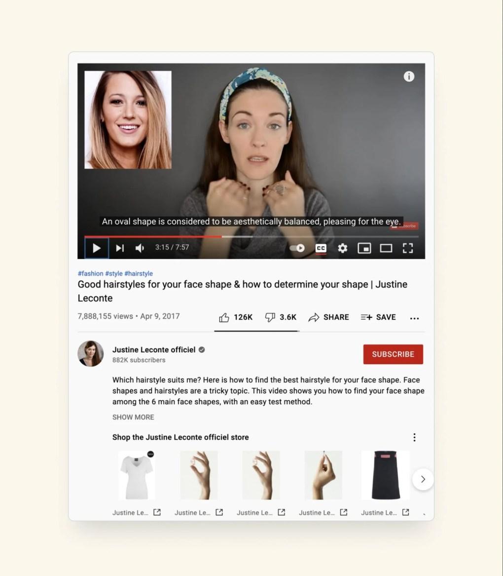 youtube creator example on social media