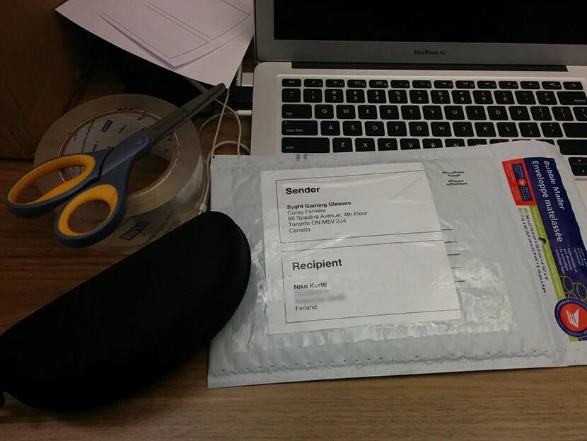 Упакованный заказ должен быть отправлен