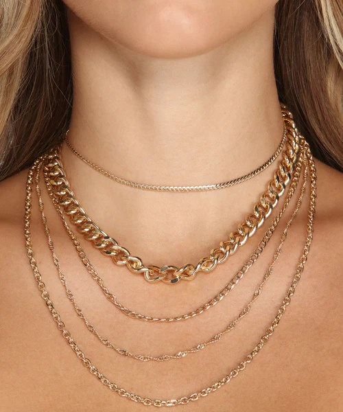 Chain Gang Jewelry Pictures : chain, jewelry, pictures, Chain, Necklace, Windsor