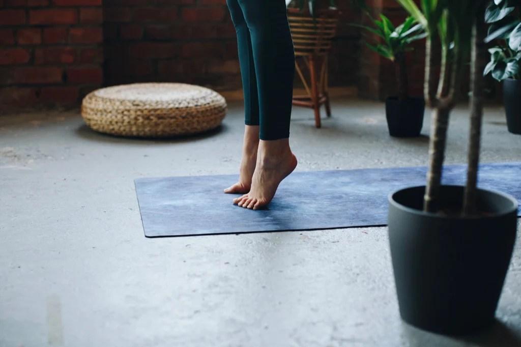 tapis de yoga ecologique naturel bio