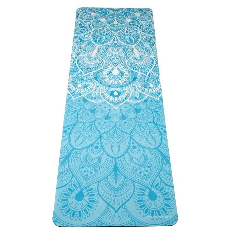 tapis yoga voyage pliable mandalas 1 5mm