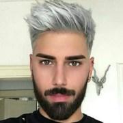 dye hair platinum