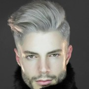 guide silver grey hair