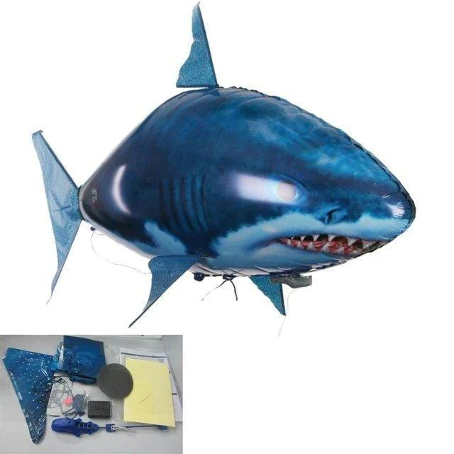 air swimmer fish blimp