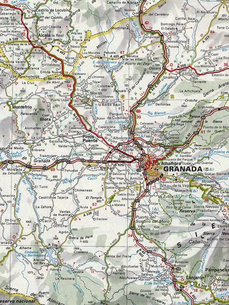 Spain Portugal Road Atlas Michelin Buy Road Atlas of