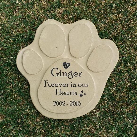 engraved pet memorial garden