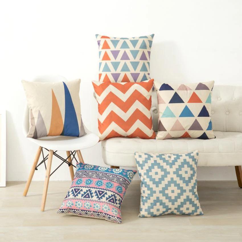 nordic cushion pillow case