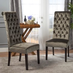 Tall Back Dining Chairs Wooden Toddler Table And Leona Tufted New Velvet Chair Set Of 2 Gdf Studio 1 5b2a656a 0f0e 4a50 88be 3029ddabc95c 1024x1024 Jpg V 1547507608