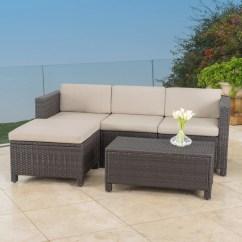 Tosh Furniture Dark Brown Sofa Set Oxford Room And Board Lorita Outdoor 5 Piece Wicker Sectional