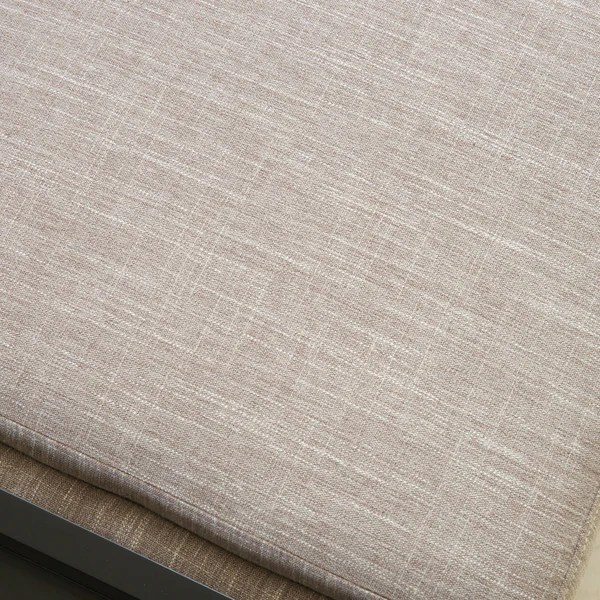 Fullerton Chamois Fabric Storage Ottoman  GDF Studio