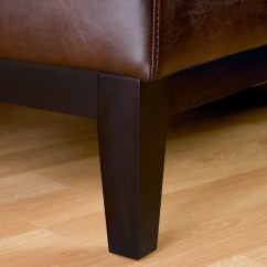 Brown Leather Slipper Chair Dining Covers For Sale Brakar Armless Great Deal Furniture