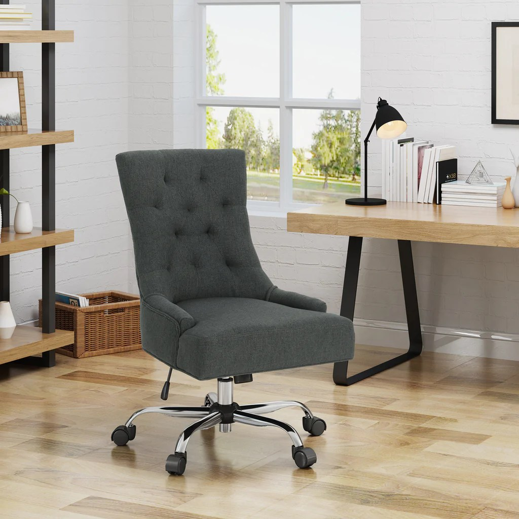 Home Office Desk Chairs Bagnold Home Office Fabric Desk Chair