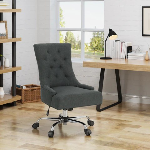 home desk chairs revolving chair repair in indore office gdf studio bagnold fabric