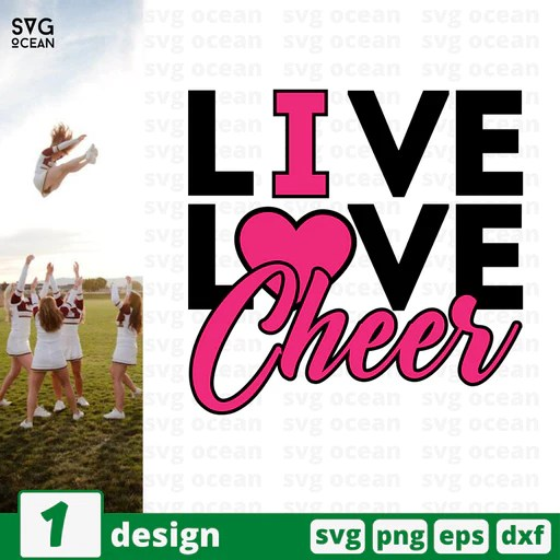 Download Cheer SVG Files | Cheerleading Free SVG Files | SVG Ocean