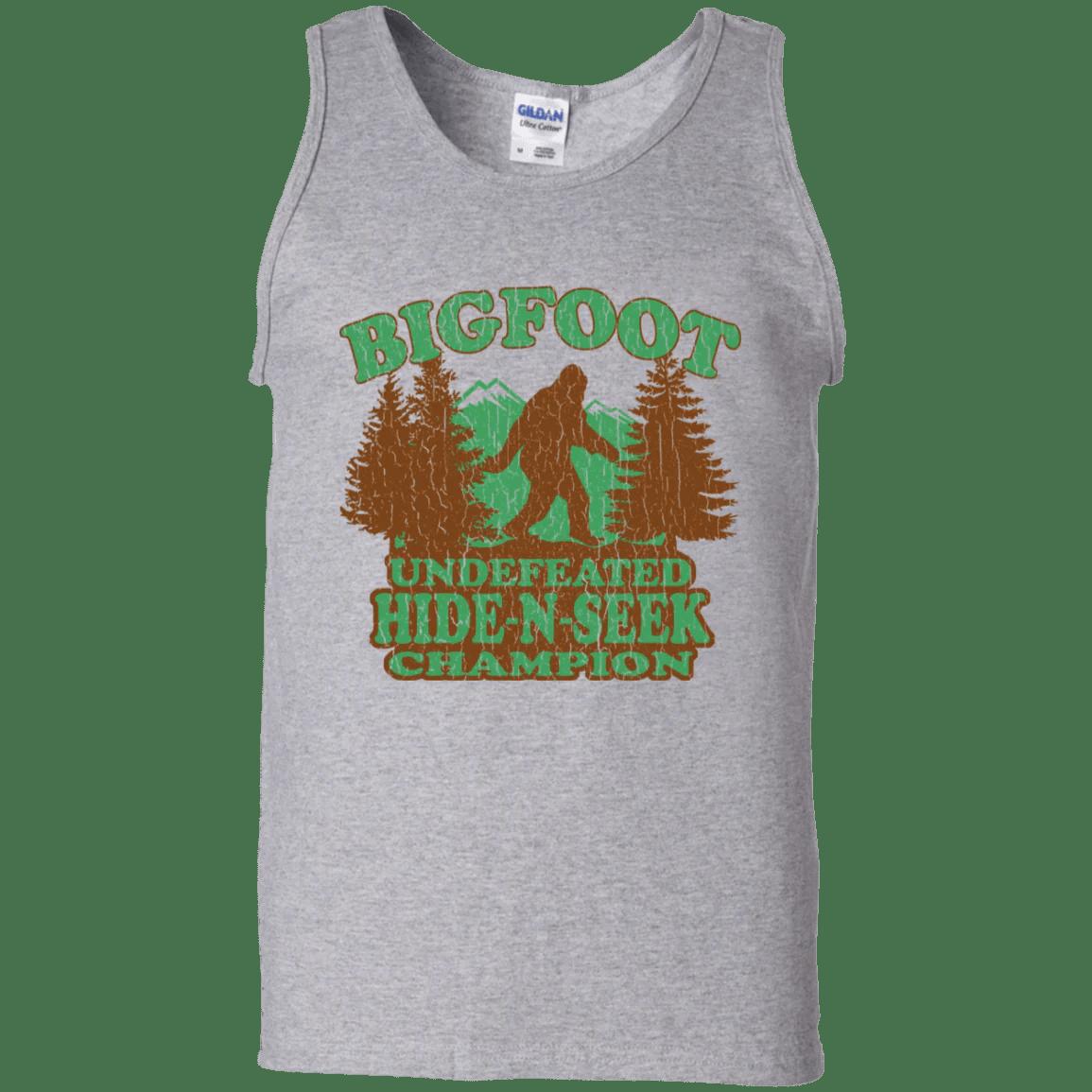 1029eb47 Agr Bigfoot Hide Seek Champion Vintage Distressed Mens