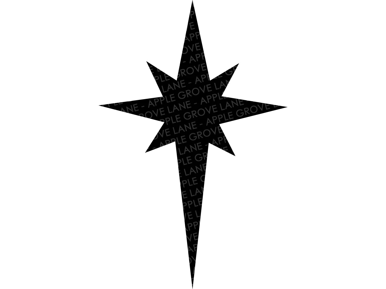 Digital cut file mandala star bundle, christmas star svg. Nativity Star Svg Nativity Svg Christmas Star Svg Christmas Svg Apple Grove Lane