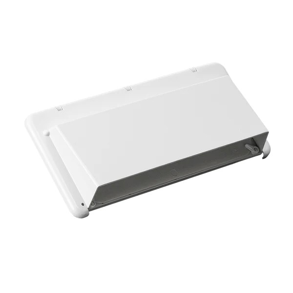 heng s j116awh c rv stove exhaust vent hood cover white