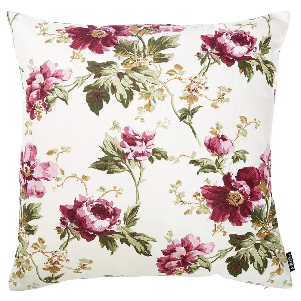 easy care fushia floral